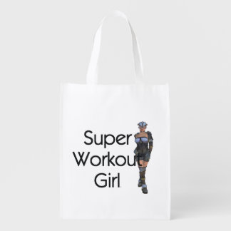 TOP Super Workout Girl Market Tote