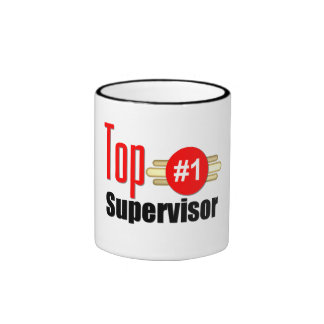Top Supervisor Ringer Coffee Mug
