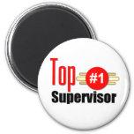 Top Supervisor Refrigerator Magnet