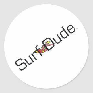 TOP Surf Dude Stickers