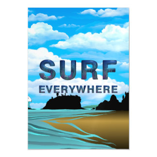 TOP Surf Everywhere Magnetic Card