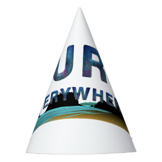 TOP Surf Everywhere Party Hat