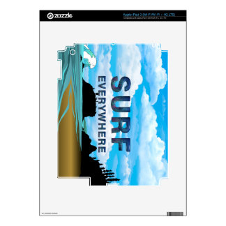TOP Surf Everywhere Skin For iPad 3