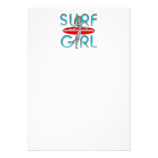 TOP Surf Girl Invitation