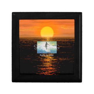 TOP Surfing Poetry Jewelry Box