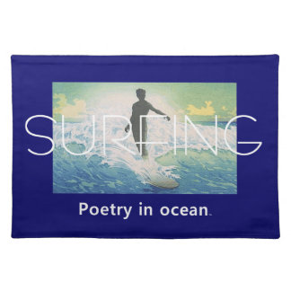 TOP Surfing Poetry Placemat