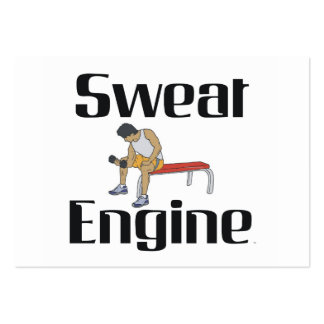 TOP Sweat Engine Business Cards