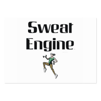 TOP Sweat Engine Business Card Template