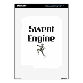 TOP Sweat Engine Decals For iPad 3