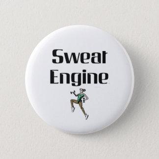 TOP Sweat Engine Pinback Button