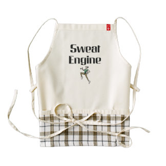 TOP Sweat Engine Zazzle HEART Apron