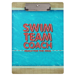 TOP Swim Coach Clipboard