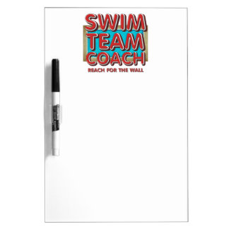 TOP Swim Coach Dry Erase Board