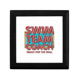 TOP Swim Coach Jewelry Box