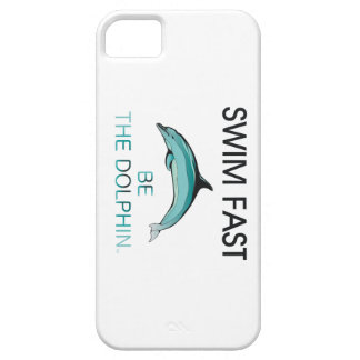 TOP Swim Dolphin Fast iPhone SE/5/5s Case