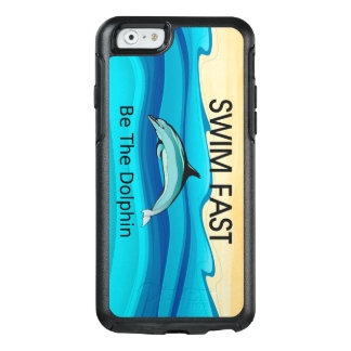 TOP Swim Dolphin Fast OtterBox iPhone 6/6s Case