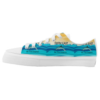 TOP Swim Dolphin Fast Printed Shoes