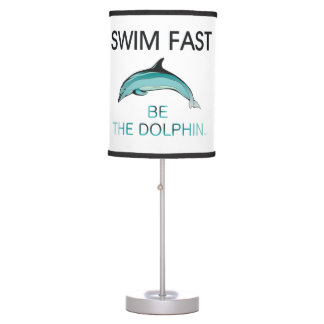 TOP Swim Dolphin Fast Table Lamp