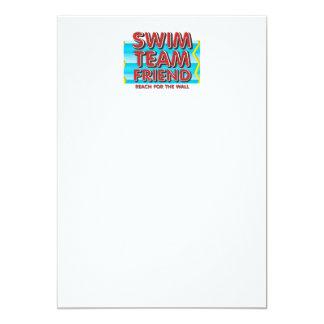 TOP Swim Friend Card