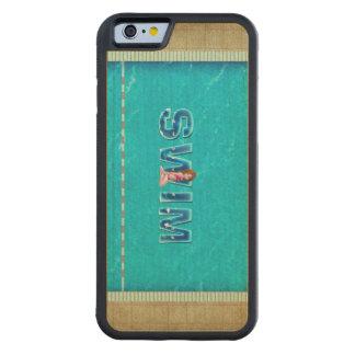 TOP Swim Kids Carved® Maple iPhone 6 Bumper Case