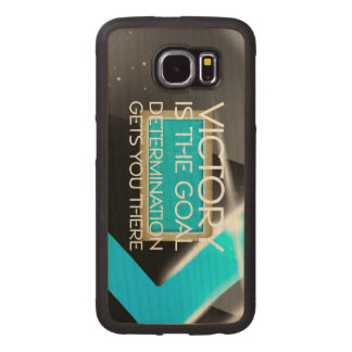 TOP Swim Race Victory Wood Phone Case