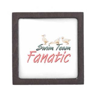 TOP Swim Team Fanatic Keepsake Box