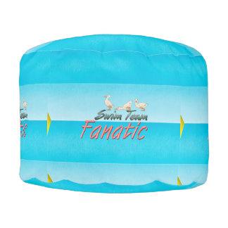 TOP Swim Team Fanatic Round Pouf