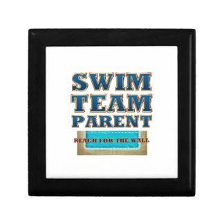 TOP Swim Team Parent Jewelry Box