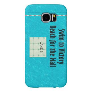 TOP Swim Team Slogan Samsung Galaxy S6 Case