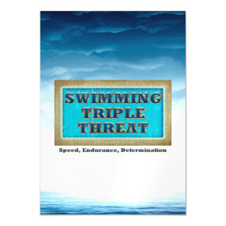 TOP Swim Triple Threat Magnetic Card