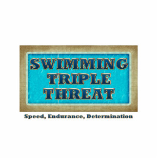 TOP Swimming Triple Threat Statuette