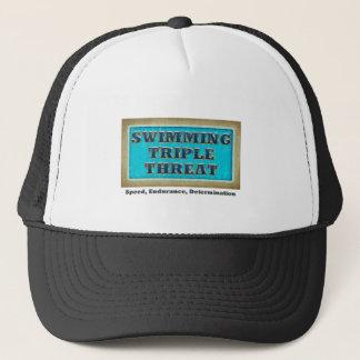 TOP Swimming Triple Threat Trucker Hat