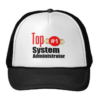 Top Systems Administrator Trucker Hat