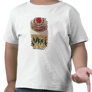 Top: Tabaquera del oro embutida con las diversas Camisetas