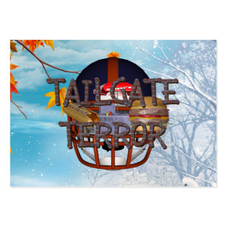 TOP Tailgate Terror Large Business Card