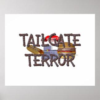 TOP Tailgate Terror Poster