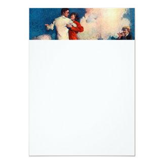 TOP Tango Summer 5x7 Paper Invitation Card