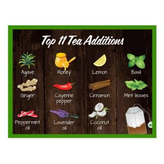 Top Tea Additions Postcard