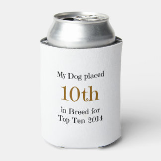 Top Ten Breed 10th Can Cooler