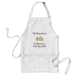 Top Ten Breed 4th Adult Apron