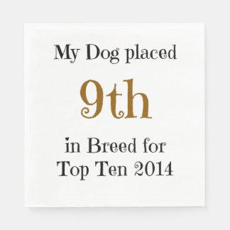 Top Ten Breed 9th Napkin