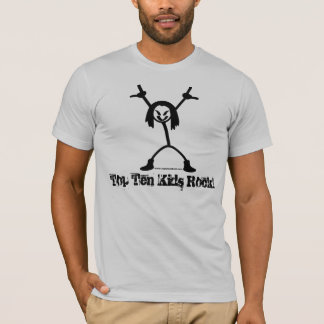 Top Ten Rocker Adult American Apparel T-Shirt