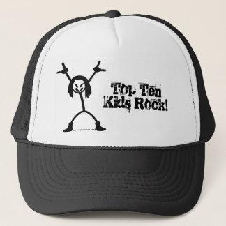 Top Ten Rocker Trucker Cap