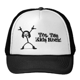 Top Ten Rocker Trucker Cap Trucker Hat