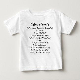 Top Ten Worst Things To Hear At A Raid Tee Shirts