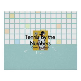 TOP Tennis by the Numbers Poster