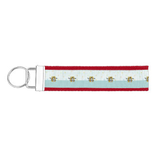 TOP Tennis by the Numbers Wrist Keychain