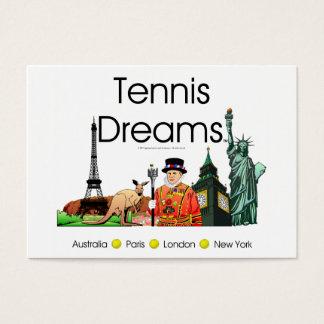 TOP Tennis Dreams Business Card