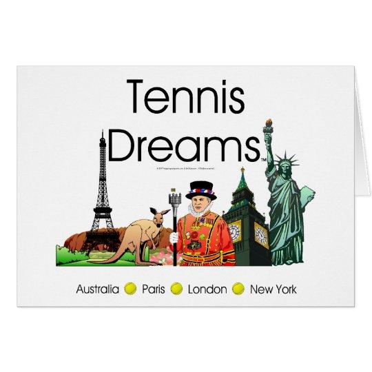 TOP Tennis Dreams Card