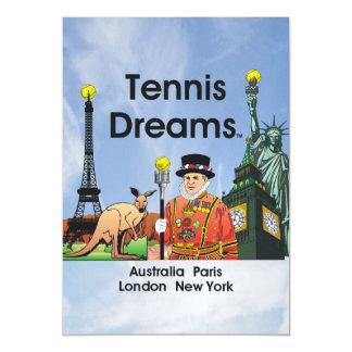 TOP Tennis Dreams Magnetic Card